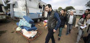 Campi rom, tensione tra Bruxelles e Salvini