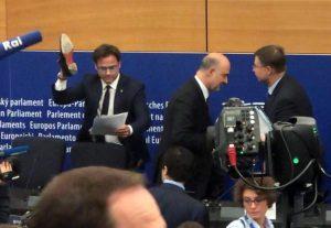 Ciocca calpesta la lettera di bocciatura della manovra. Dura reazione Moscovici